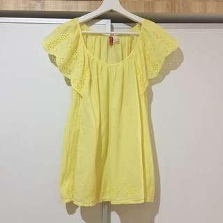 H&M Yellow Blouse