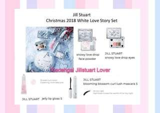 🌟RESTOCK MONTHLY classic items🌟 AUTHENTIC BRAND NEW Limited Edition 5 pcs Jill Stuart White Love Story Set (Fresh LATEST MANUFACTURED DATE 👍🏻)💋No Pet No Smoker Clean Hse💋
