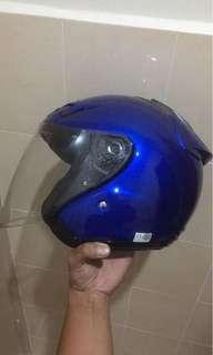Helmet shoei jforce 3 fiberglass
