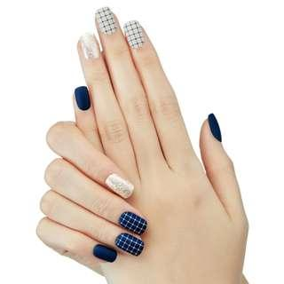 [FreeMail]Dashing diva Press on Manicure#Stay Classy(slim fit series)