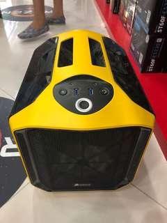 Corsair 380T (Yellow) ITX PC Case