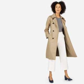 Everlane brand new without tag, Drape Trench Coat, size M