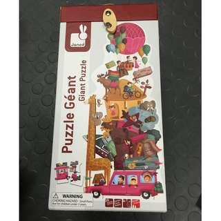 JANOD high quality giant puzzle 39pcs in sturdy box AUSTRALIAN BRAND FRENCH DESIGN