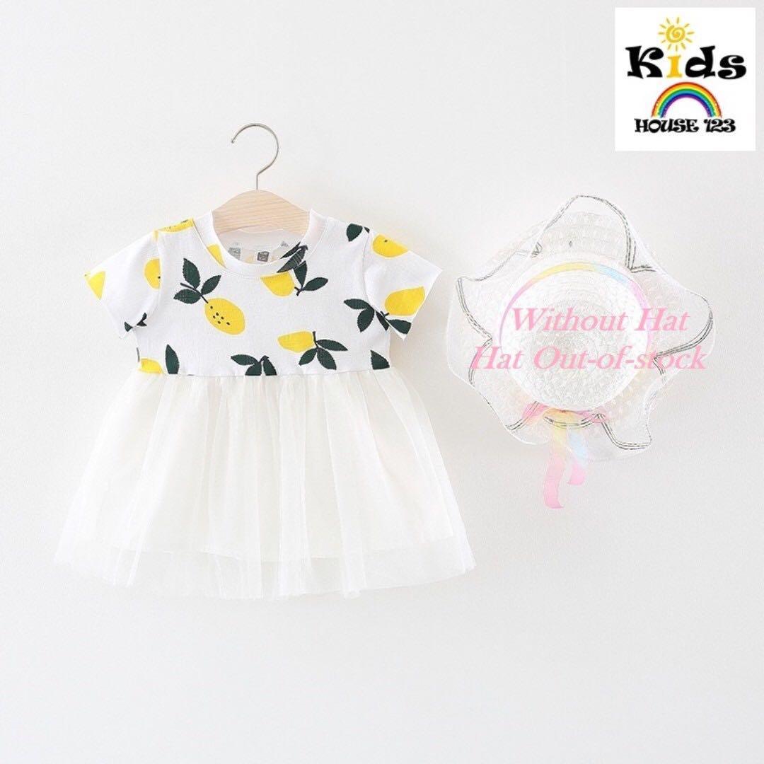 ceaeea824 20% OFF NOV SALES !!!! Pretty Lemon Print ShortSleeve Tulle Dress ...