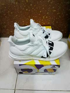 1922f77d052ad ADIDAS ULTRABOOST 4.0 UNDEFEATED WHITE BLACK ORIGINAL BOOST BASF 100%