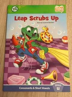 Leap Frog book- tag reading system