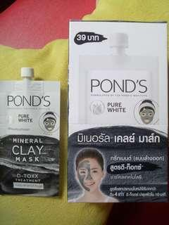 Pond's Pure White Mineral Clay Mask 8g