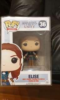 Funko pop assassin's creed unity ps3 ps4 elise