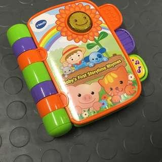 Vtech  baby first storytime rhyme big electric book
