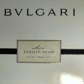 SALE!!! Bvlgari Mon Jasmin Noir L'Eau Exquise - Set of Two Bottles