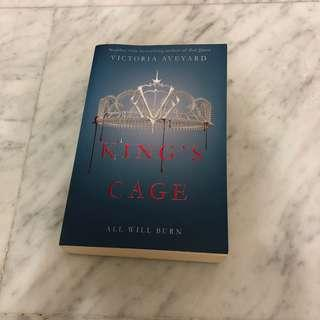King's Cage (3rd book under Red Queen series)