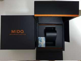 Brand new Mido watch boxes