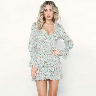 Longsleeve Floral Dress