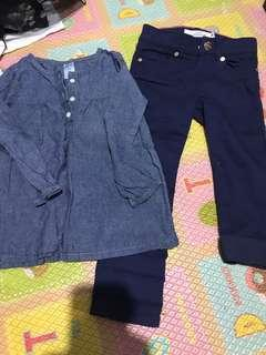 h&m carters 2 pieces