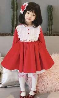 Red dress (Spanish) Christmas