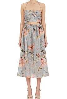 SUPER SUPER RARE: Zimmermann Mercer Floral Tie Dress (Size 1)