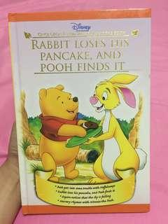 Rabbit Loses His Pancake, and Pooh Finds It
