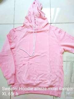 sweater hoodie pink