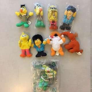 Sesame Street Mini Beans Kellogs McDonalds Lot