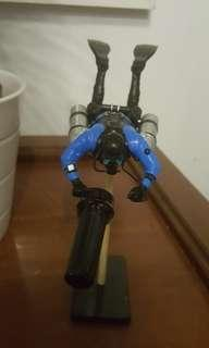Sidemount scuba tech Diver model #Diving #Scuba