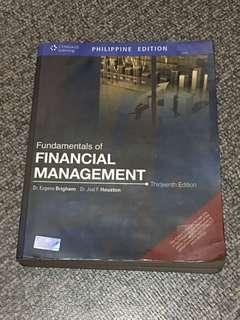Financial Management by Brigham and Houston