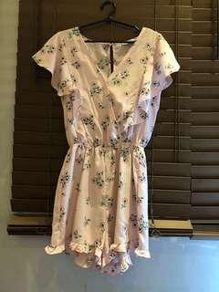 Cotton On Pink Floral Dress