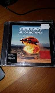 The subways- all or nothing - cd album