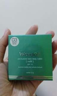 WARDAH EXCLUSIVE TWO WAY CAKE (refill) NO 3 Sandy Beige