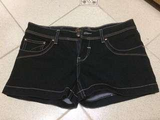 Black with Linings Shorts