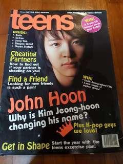 Teenage Magazine - jan 2007