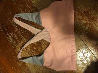 Victoria sport pink grey sports bra size S/P
