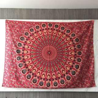 Tapestry Mat and Fairy Lights Set