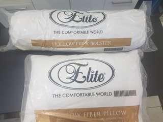 1 paket bantal dan guling merk ELITE TERMURAAAH