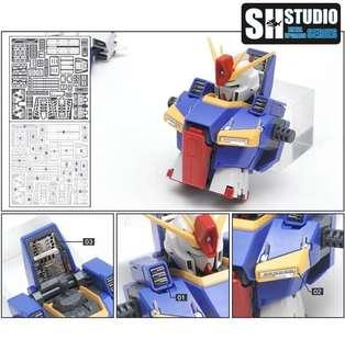 Pre Order SH Studio ZZ gundam Etching Parts
