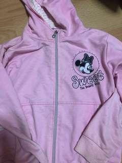 Hk Disneyland authentic Minnie Mouse pink jacket
