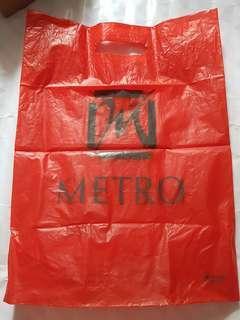 Kantong plastik Metro