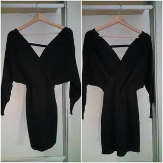 Shopkyla Sage Knit Dress (Casual/Dinner) (D07)