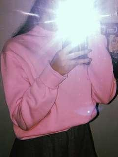 Pink sweatshirt size small-med