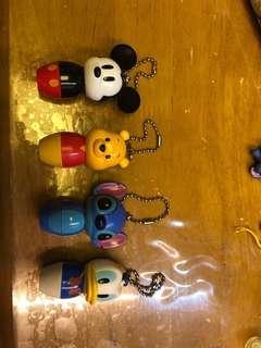 Disney迪士尼 米奇老鼠 唐老鴨 小熊維尼 史迪仔 扭蛋筆