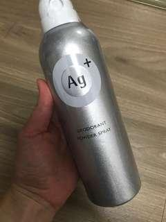 Direct from Japan AG+ Deodorant Powder Spray