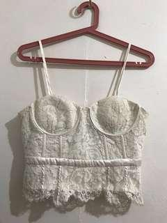 Forever 21 Sexy Lace Top
