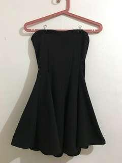 Tube Black Dress