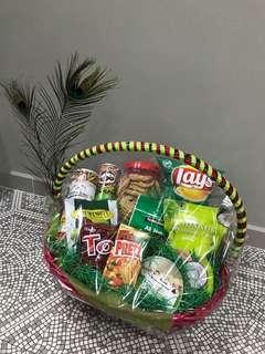 Pink & Green Deepavali Gift Hamper