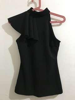 Unique Design Black Top