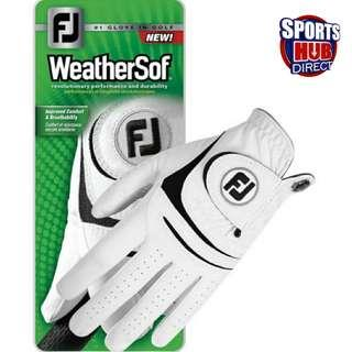 🚚 Footjoy Weathersof Golf Glove - Lefthand Glove Size 23-25