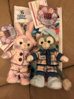 Duffy StellaLou Gelatoni 小東尼 芭蕾兔(每隻$200)
