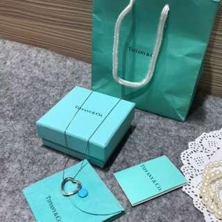 Tiffany&co 愛心項鍊
