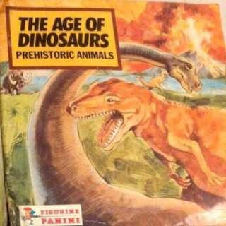 Retro Paste it Yourself - The Age of Dinosaurs