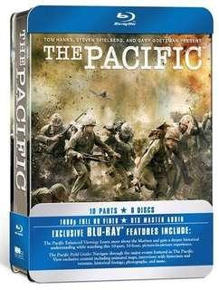 The Pacific HBO mini series bluray steel book