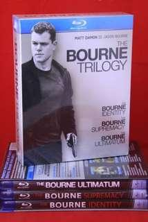 The Bourne Trilogy bluray box set